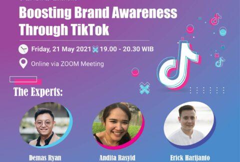 Boosting Brand Awareness through Tik Tok